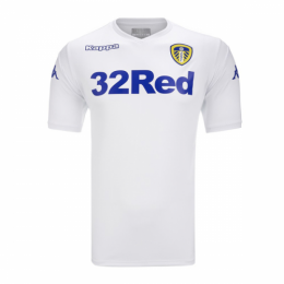 18-19 Leeds United Home White Jersey Shirt