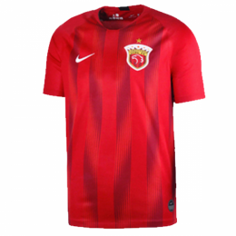 2019 Shanghai SIPG Home Red Soccer Jerseys Shirt