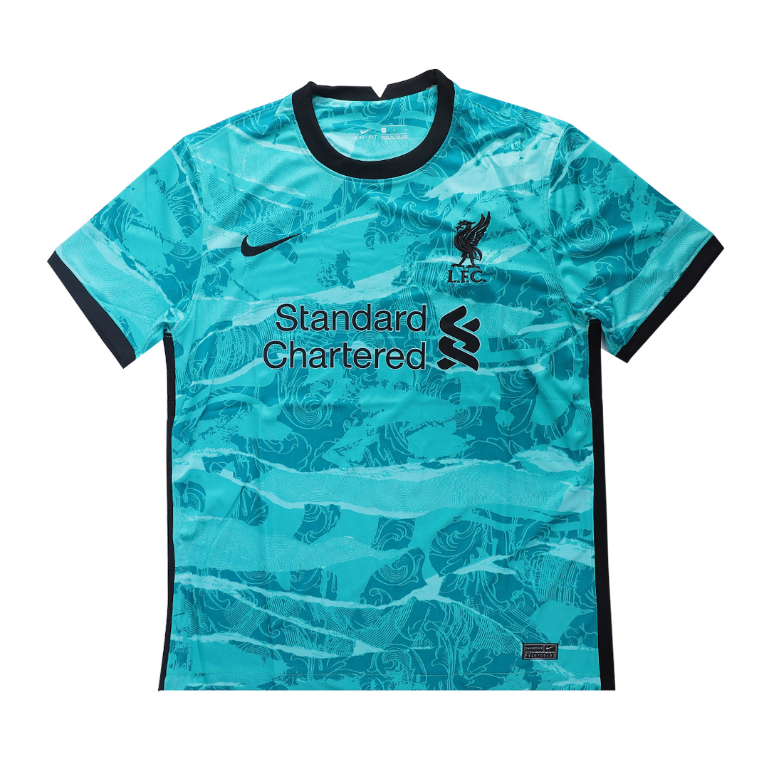 20/21 Liverpool Away Green Soccer Jerseys Shirt