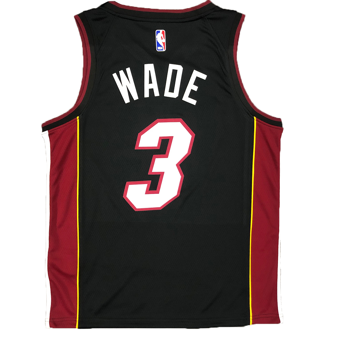 Brooklyn Nets Wade #3 Nike Black Swingman NBA Jersey - City Edition