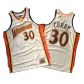Retro Curry #30 2009/10 Golden State Warriors Soccer Jersey